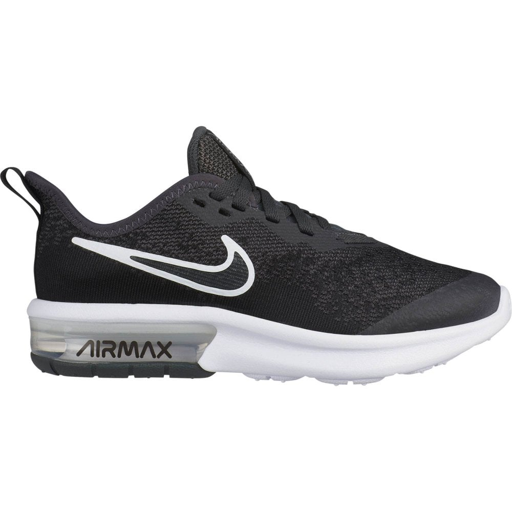 0091ba8f13 Nike Youths Air Max Sequent 4 EP Trainers (Grey) - Kids from Loofes UK