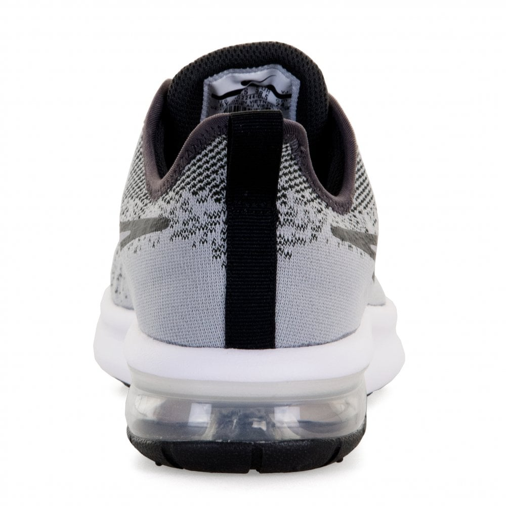 ef1e1e305c Nike Youths Air Max Sequent 4 Trainers (Grey) - Kids from Loofes UK