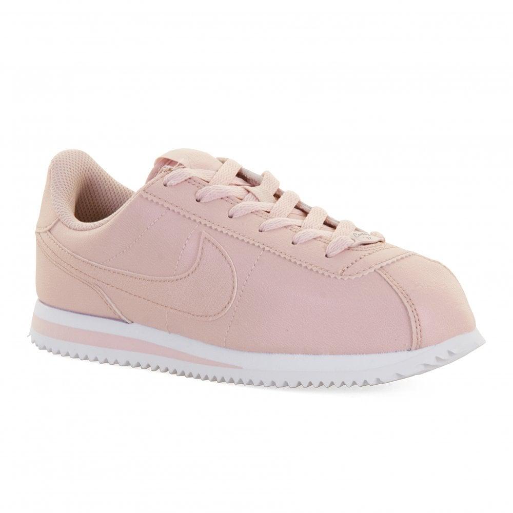 half off 5323d 49de7 Youths Cortez SL Trainers (Pink)