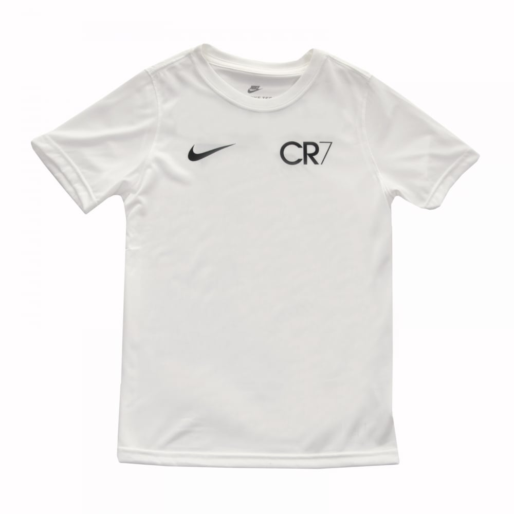Nike Youths CR7 T-Shirt (White) - Kids from Loofes UK