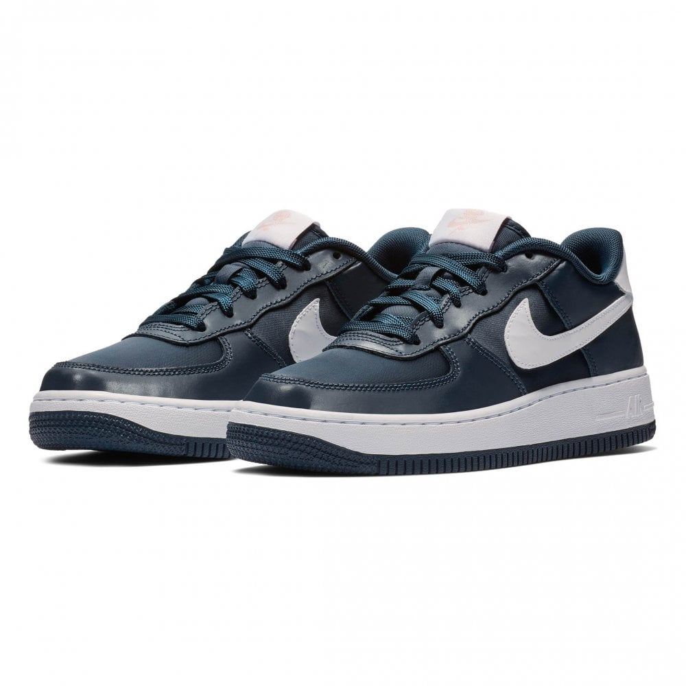 06ed5f387a Nike Youths Force 1 V-Day Trainers (Navy) - Kids from Loofes UK