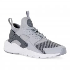 Nike Youths Huarache Run Ultra Trainers (Grey)