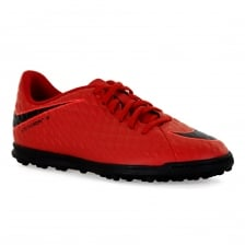 Nike Youths Hypervenom Phade 3 Football Trainers (Red)