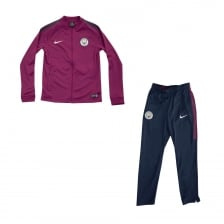 Nike Youths Manchester City Track Suit (Berry)
