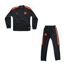 Nike Youths Manchester City Track Suit (Black)