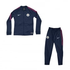 Nike Youths Manchester City Track Suit (Navy)