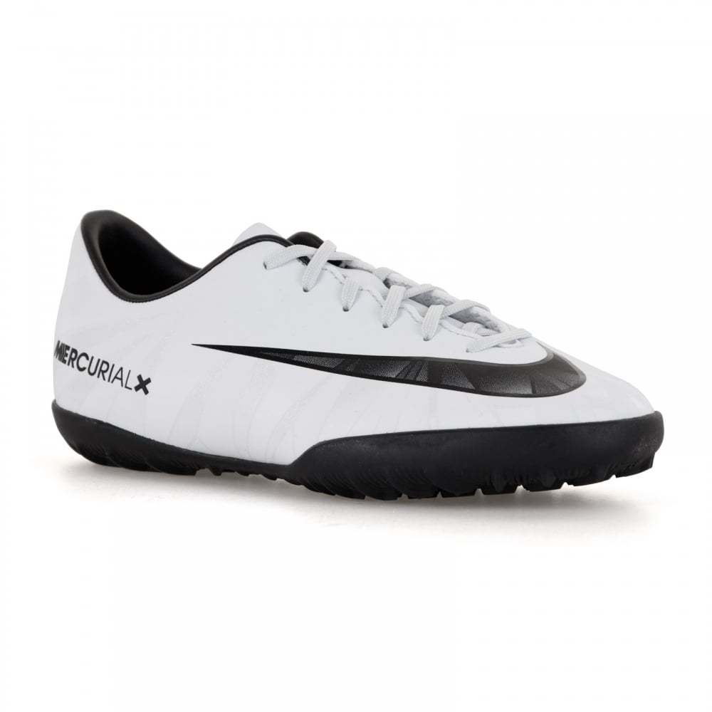 Nike Youths Mercurial Victory CR7 TF Football Trainers (Blue  Tint Black White) 088cc55208fe