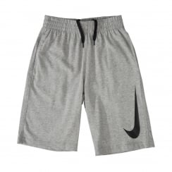 Nike Youths N45 Jersey Shorts (Grey)