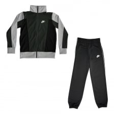 Nike Youths NSW 117 Track Suit (Grey Black)