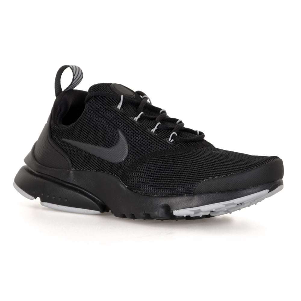 5e2e23ce97 Nike Youths Presto Fly Trainers (Black/Grey) - Kids from Loofes UK