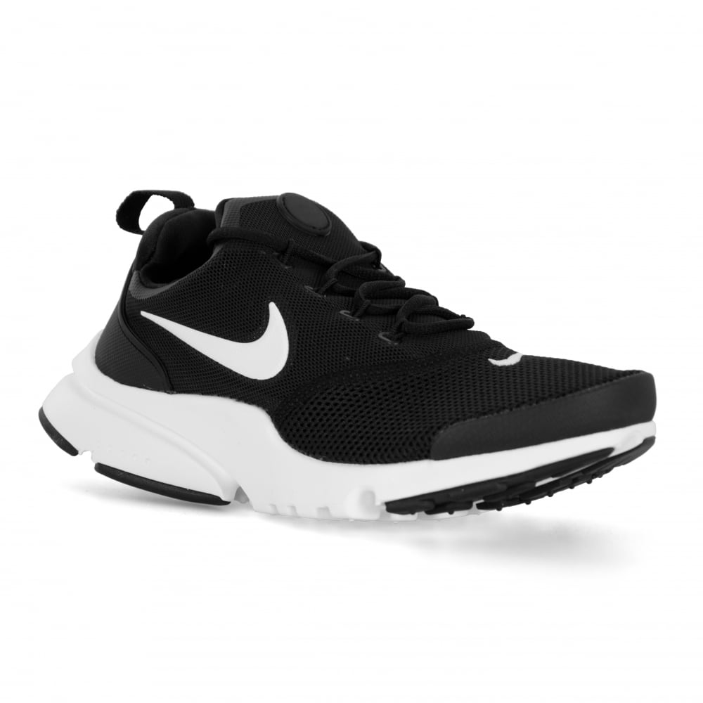 Nike Youths Presto Fly Trainers (Black/White)