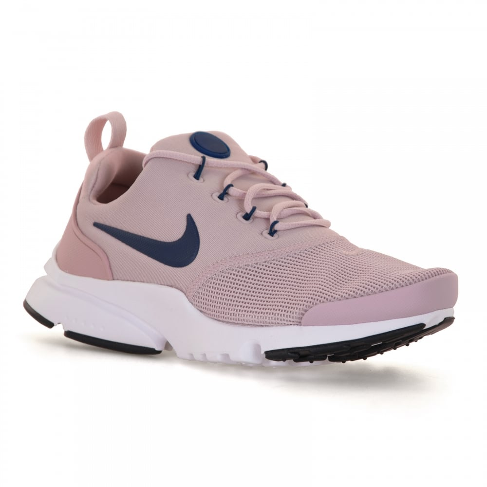 ee640d6ac385e Nike Youths Presto Fly Trainers (Rose Navy)