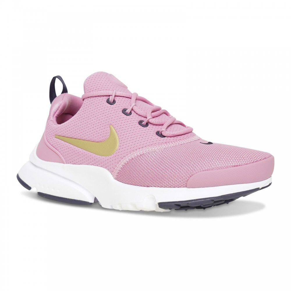 24e3a41cf4660 Nike Youths Presto Fly Trainers (Rose) - Kids from Loofes UK