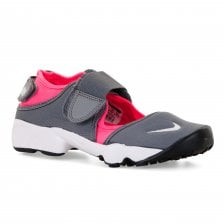 Nike Youths Rift Trainers (Grey/Pink)