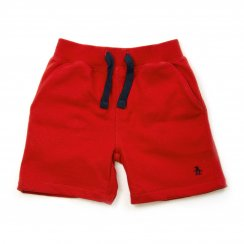 Original Penguin Juniors Kids Stackle Shorts (Red)