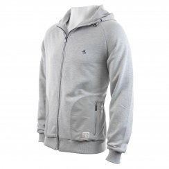 Original Penguin Men's Backford Move On Hooded Sweater (Grey)