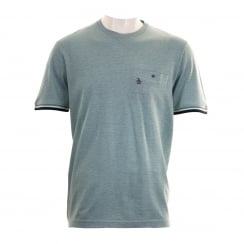Original Penguin Mens Birdseye T-Shirt (Arona)