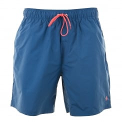 Original Penguin Mens Daddy Swim Shorts (True Blue)