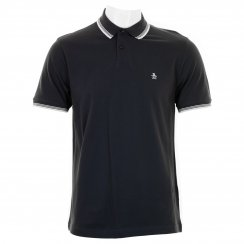 Original Penguin Mens Duo Slim Fit Polo Shirt (Dark Sapphire)