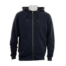 Original Penguin Mens Mouline Loopback Hooded Sweat Top (Navy)