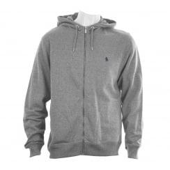 Original Penguin Mens Muline Hooded Sweat Top (Rain Heather)