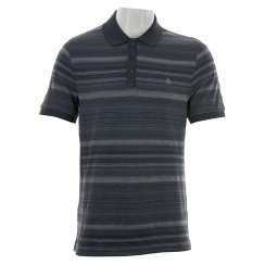 Original Penguin Mens Patterned Polo Shirt (Indigo)