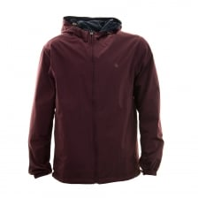 Original Penguin Mens Reversible Shell Jacket (Burgundy)