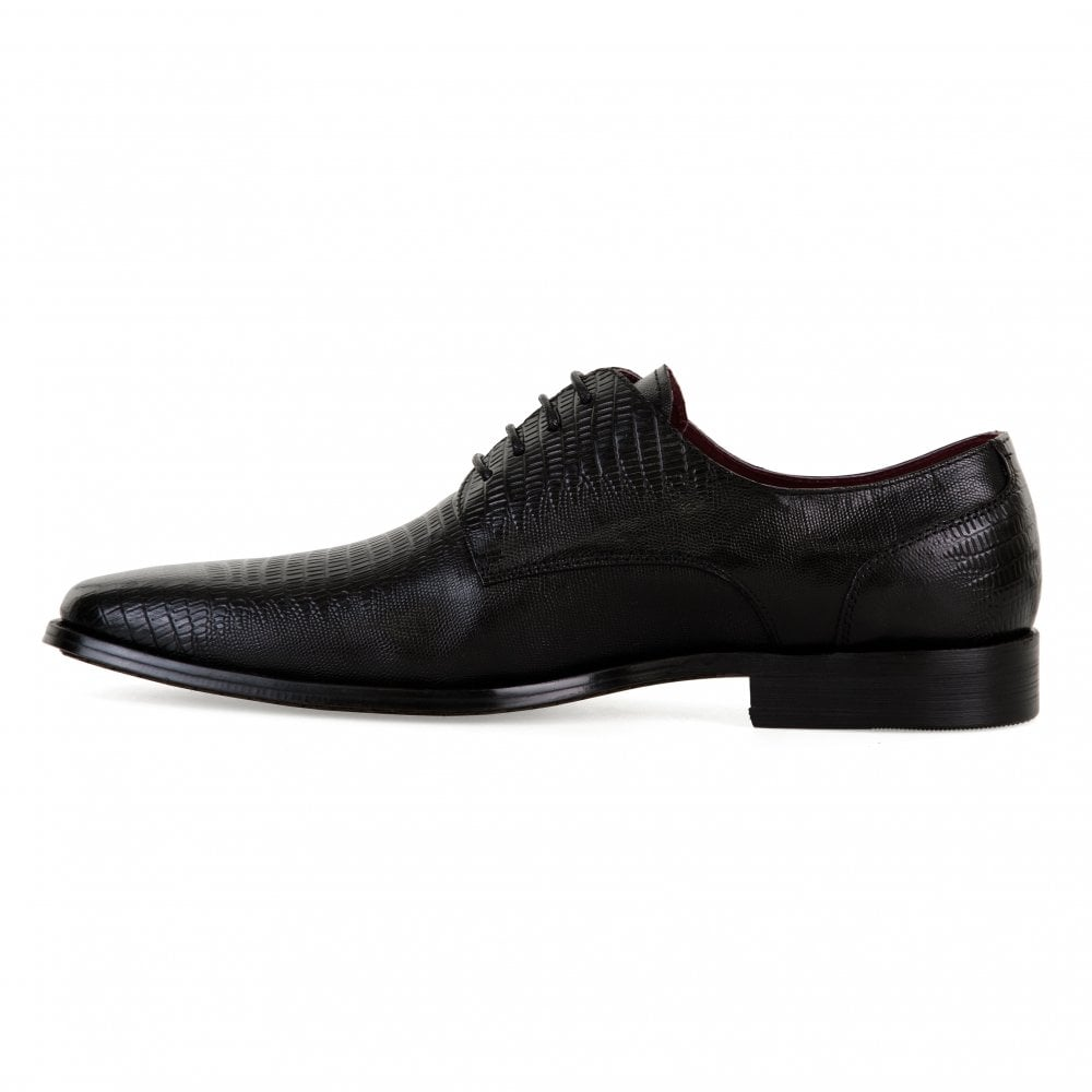 22c53b0227f Paolo Vandini Paolo Vandini Mens Davenport Lace-Up Shoes (Black)