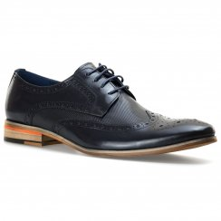 Paolo Vandini Mens Nateby Lace-Up Shoes (Navy)