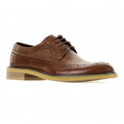 Paolo Vandini Mens Nodmore Oxford Brogues (Tan)