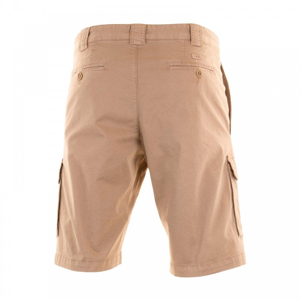 64ebabfc9a Paul & Shark Mens Logo Patch Cargo Shorts (Sand) - Mens from Loofes UK