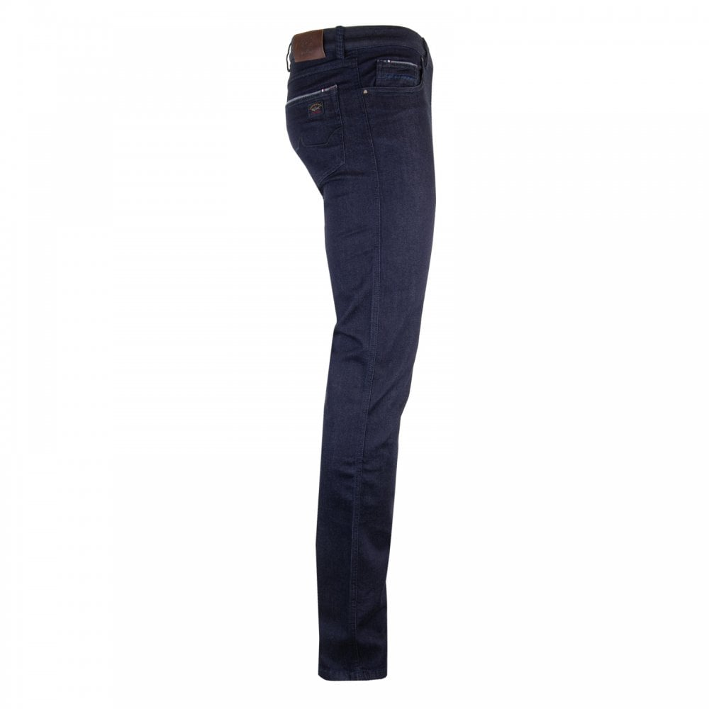 3b878802a7 Paul & Shark Mens Patch Logo Jeans (Dark Denim) - Mens from Loofes UK