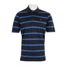 Paul & Shark Mens Stripe Polo Shirt (Navy/Blue)