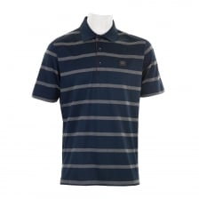Paul & Shark Mens Stripe Polo Shirt (Navy/Grey)