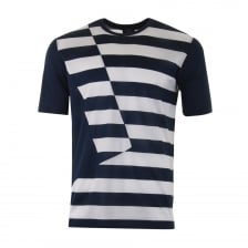 Paul & Shark Mens Stripe T-Shirt (Navy/White)