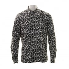 Pretty Green Mens Ivylea Floral Shirt (Black)