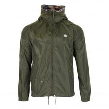 Pretty Green Mens Lightweight Hooded Jacket (Khaki)