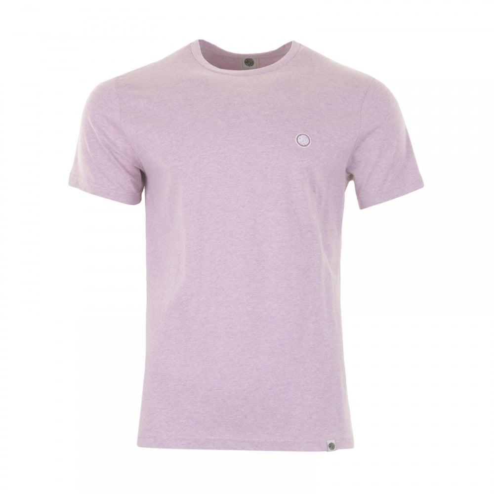 Pretty green pretty green mens marl t shirt pink mens for Mens pink shirts uk