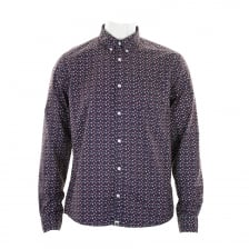 Pretty Green Mens Rindle Shirt (Blue)