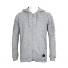 Project X Paris Mens Pleated Sleeve Zip Hoody (Grey)