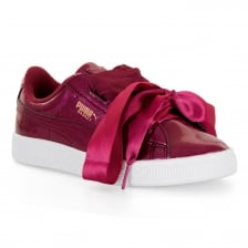 Puma Juniors Heart Glam PS Trainers (Red)