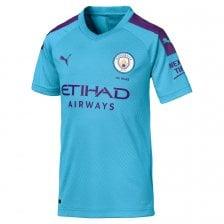 7dc259014 Puma Juniors Manchester City 2019/2020 Home Shirt (Blue)