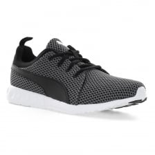 Puma Mens Carson Knitted 117 Trainers (Black/Grey)