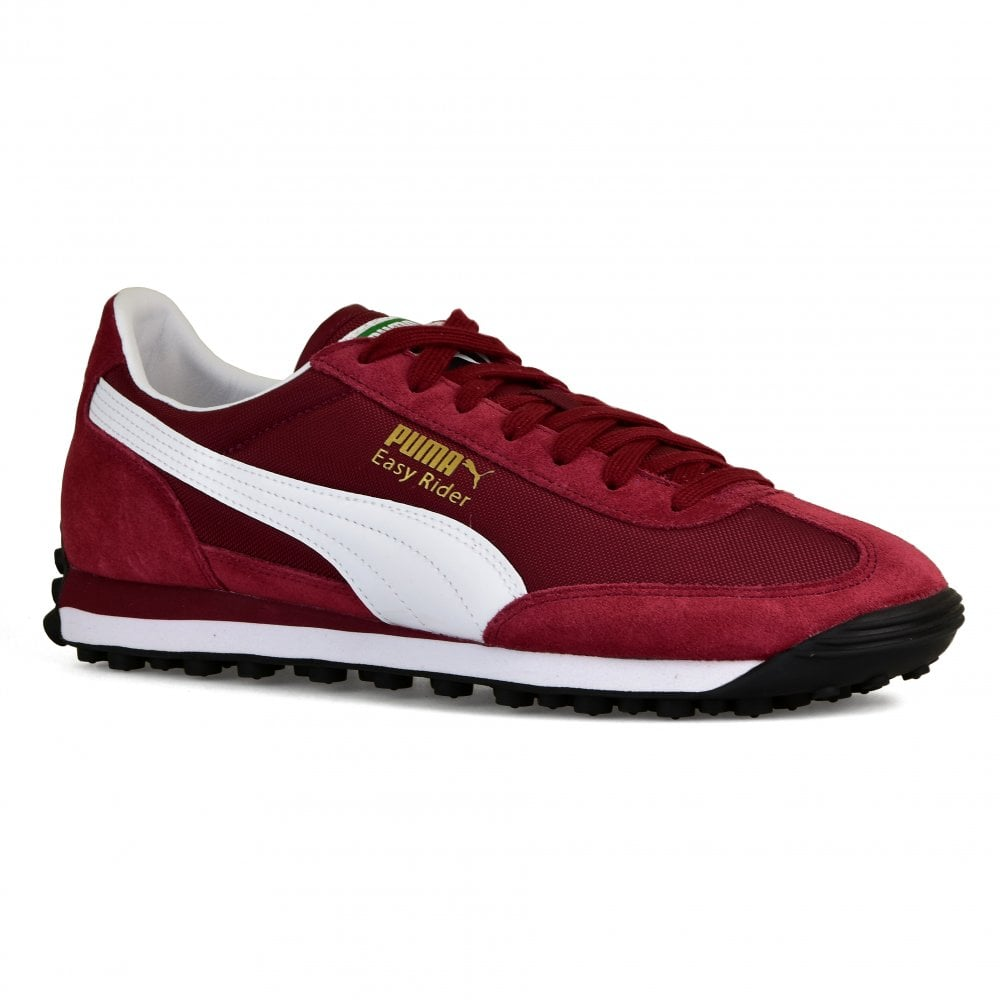 fd3fd76a1657e9 Puma Mens Easy Rider Trainers (Maroon) - Mens from Loofes UK