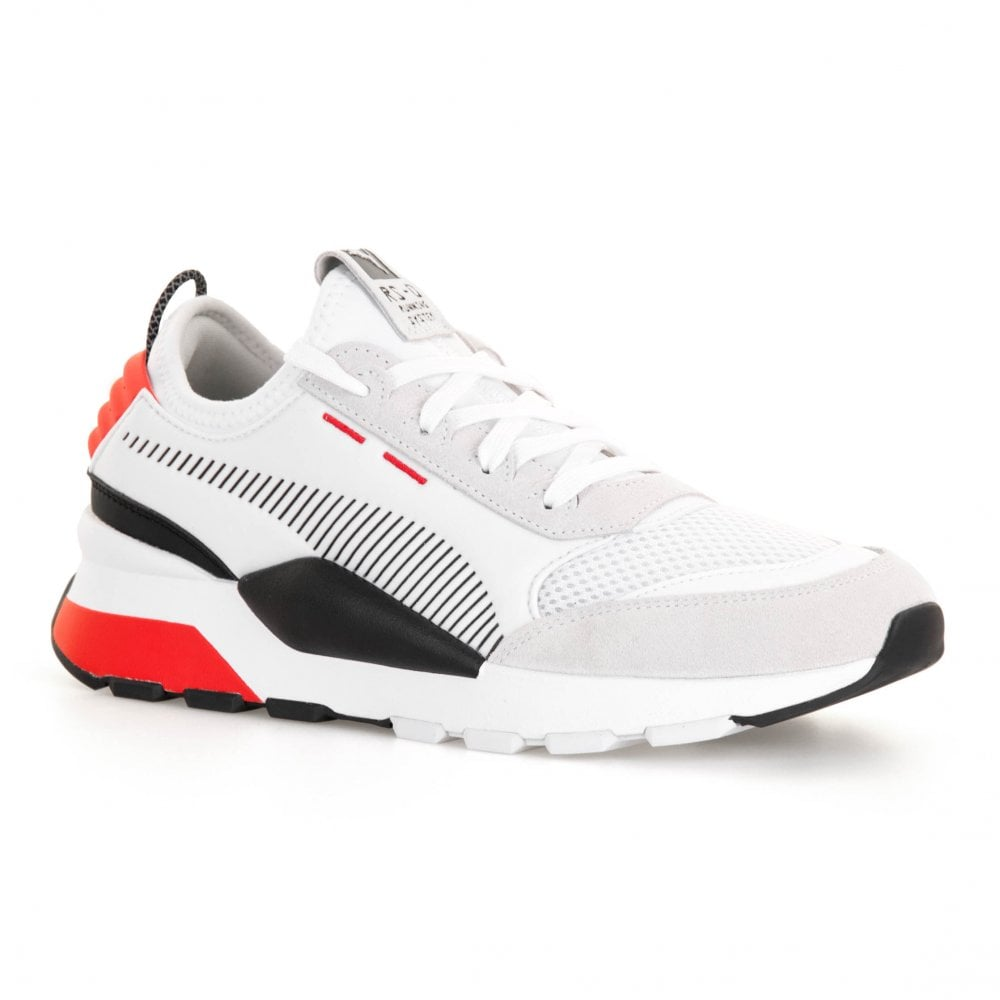 9533d9b25f9 Puma Mens RS-0 Winter Toys Trainers (White   Red) - Mens from Loofes UK