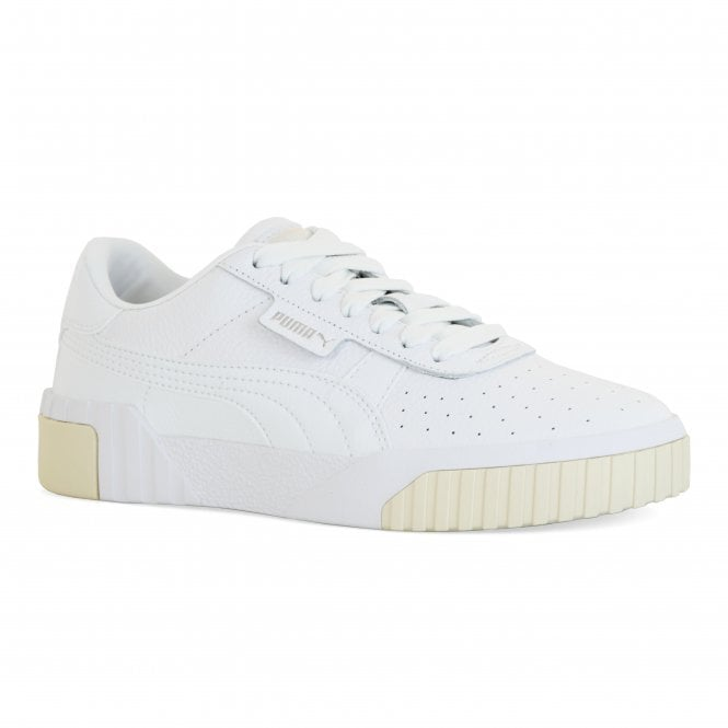 diversified in packaging suitable for men/women shopping Womens Cali Trainers (White)