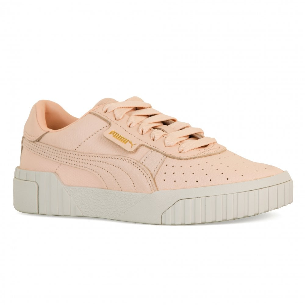 1893ec8be64a58 Puma Womens Call Emboss Trainers (Cream Tan) - Womens from Loofes UK