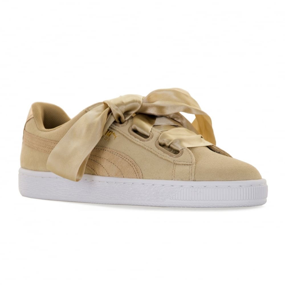b7580d84d Puma Womens Suede Heart Safari 417 Trainers (Safari) - Womens from ...