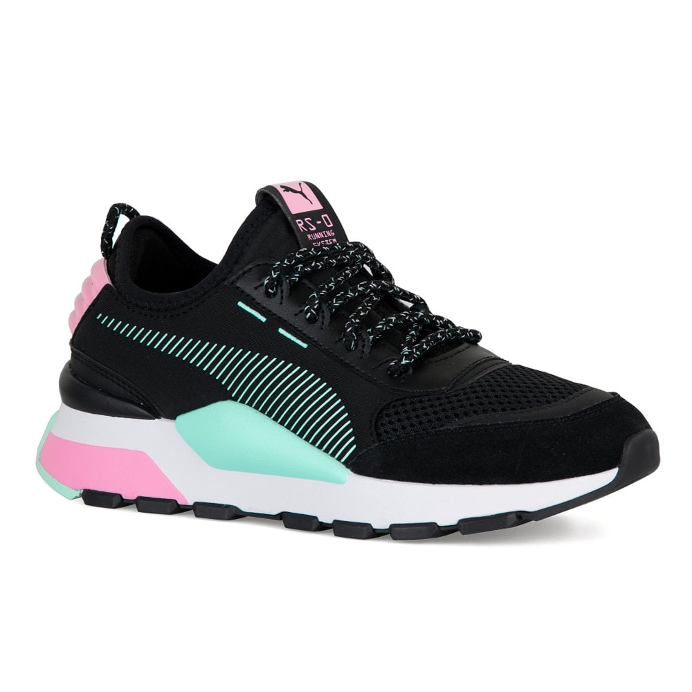 6e76933458c9 Puma Youths RS-0 Winter Toys Trainers (Black Pink) - Kids from Loofes UK