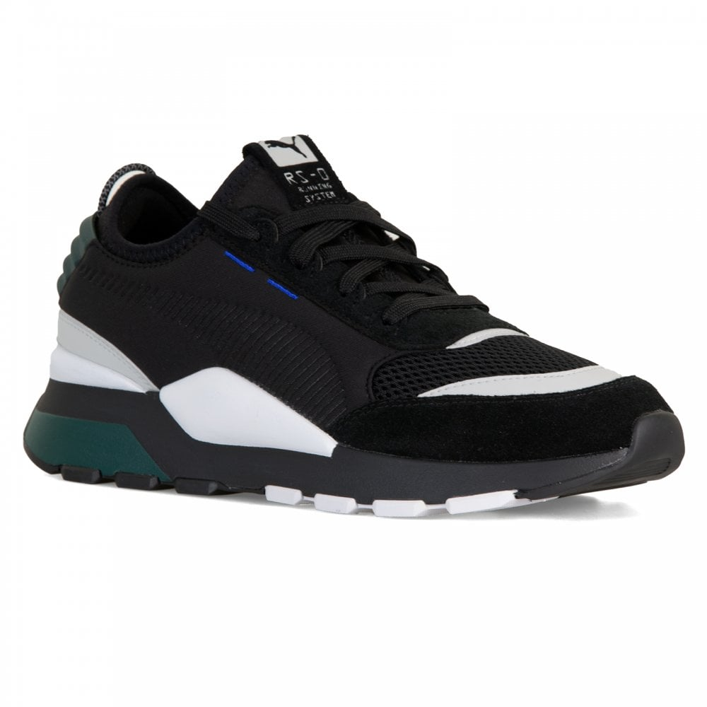ca242e936b4 Puma Youths RS-0 Winter Toys Trainers (Black White) - Kids from ...